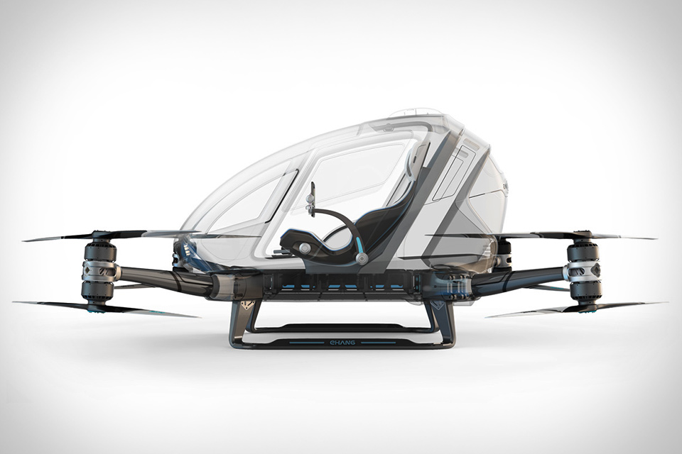 EHANG MANNED DRONE